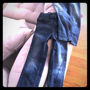 Cat and jack boys size 7 slim jeans
